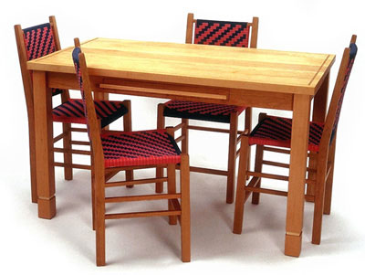 Wood Kitchen Table Sets Chairs