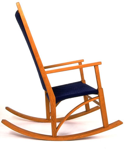 Simple Wooden Rocking Chair Michael hoy woodworking -- rocking chair