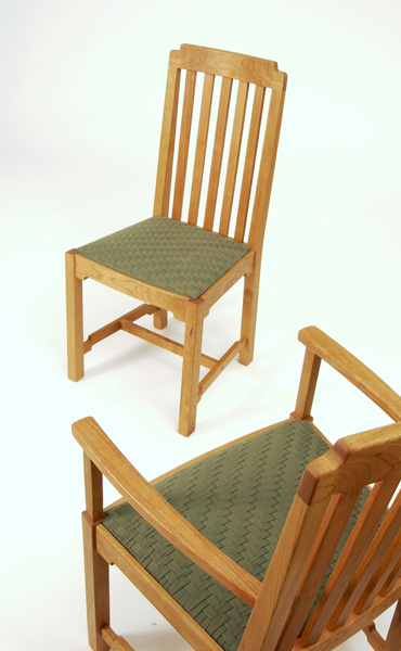 Slat Back Chairs michael hoy woodworking -- slat back arm chair
